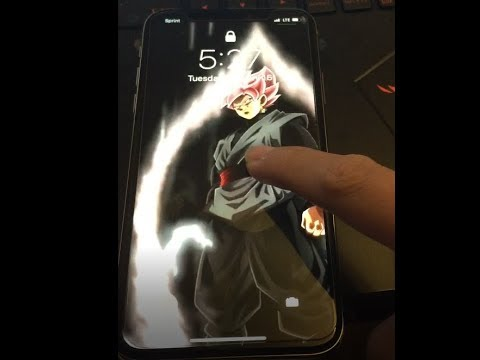 Custom Live Wallpaper For Iphone X And Android Tutorial