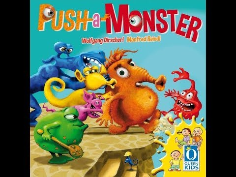 The Purge: # 1647 Push a Monster: A children's game about pushing monsters off a ledge with a fantastic scoring system