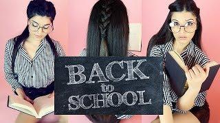 COAFURI PENTRU SCOALA/ BACK TO SCHOOL/ 3 Back To School Hairstyles 2017 [HD]