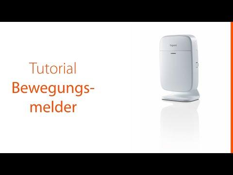Dieses Tutorial zeigt, wie man den Bewegungsmelder des Gigaset Alarmsystems in Betrieb nimmt und verwendet.