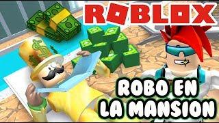 Robo En La Mansión De Robux | Rob The Mansion Obby Roblox | Juegos Roblox En Español