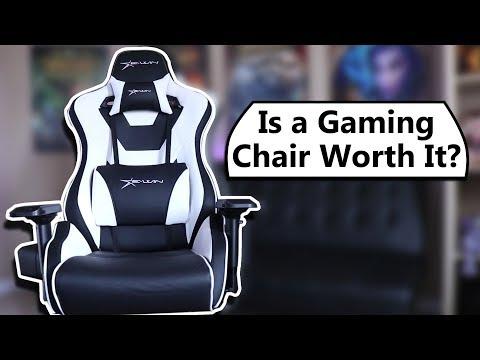 Gaming Chair Vs Ergonomic Task Chair – Worth It? EWin Racing Chair Review