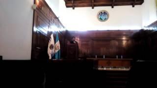 National anthem of Guatemala.  PAUL COLINDRES