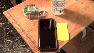 How to Repair Glass Screen Protector when it won't Stick or Adhere