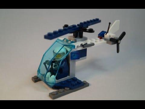 Vidéo LEGO City 30222 : Police Helicopter