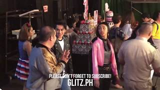 Funny behind the scenes with Maymay, Edward, Kisses, Donny, Sue and Darren at ASAP Chillout (June 3)