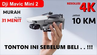 REVIEW DJI MINI 2 (INDONESIA) – Drone Compact & Ringan dengan Perekaman 4K PALING MURAH !!!