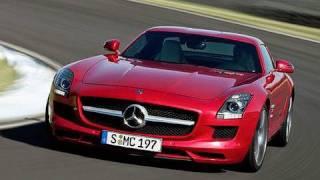 Mercedes SLS and Laguna Seca Video