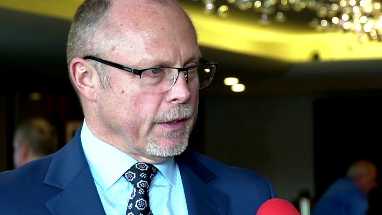 Poseł na Sejm RP Jacek Protas podczas XXV Zgromadzenia Ogólnego ZPP