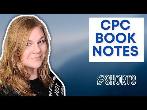 What can you write in your book for the CPC exam? - YouTube
