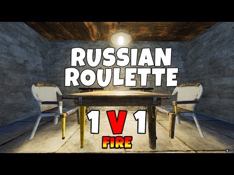 RUST | FIRE RUSSIAN ROULETTE 1 VERSUS 1 (COOKED ALIVE!) ! *NEW ELECTRICITY UPDATE*