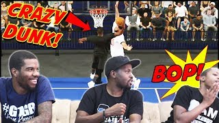Kevin Durant & Kyrie Vs LeBron & Anthony Davis! Who's The Better Duo? (NBA 2K Blacktop)