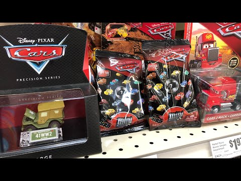 Disney Cars Diecast Hunt #13 At Four Different Stores! | 2018 Mini Racers Scores!