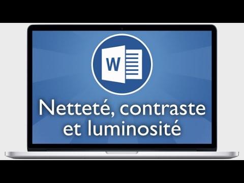 comment modifier la luminosité d'une video