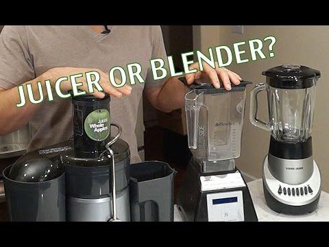 Video Juicer or Blender for Green Juices/ Smoothies- BenjiManTV