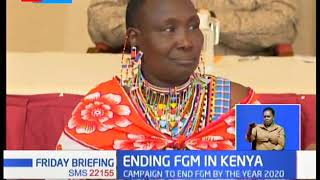 President Uhuru Kenyatta has witnessed the signing of a pact ending FGM in Kenya