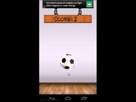 Video of Bouncing Soccer Ball