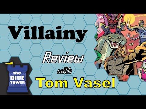 Dice Tower Reviews: Villainy
