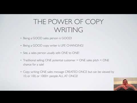 COPYWRITING FOR BEGINNERS COURSE - PART 1 - Introduction ...