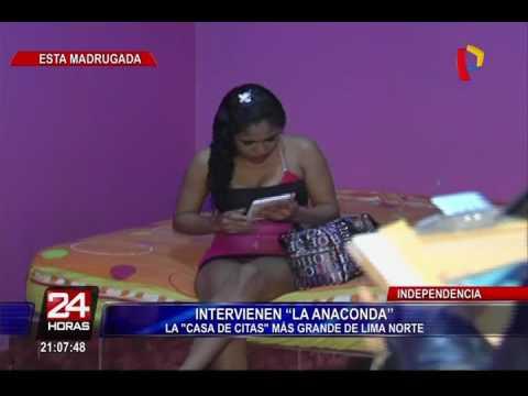 Intervienen prostíbulo 'Anaconda', el más grande de Lima Norte