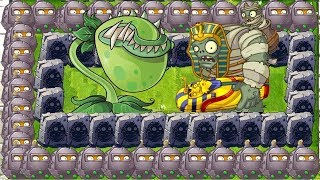Plants vs Zombies 2 - Chomper and all Wall Nut vs Gargantuar
