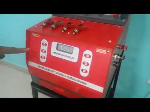 Fuel Injector Cleaning Machine at Best Price in India