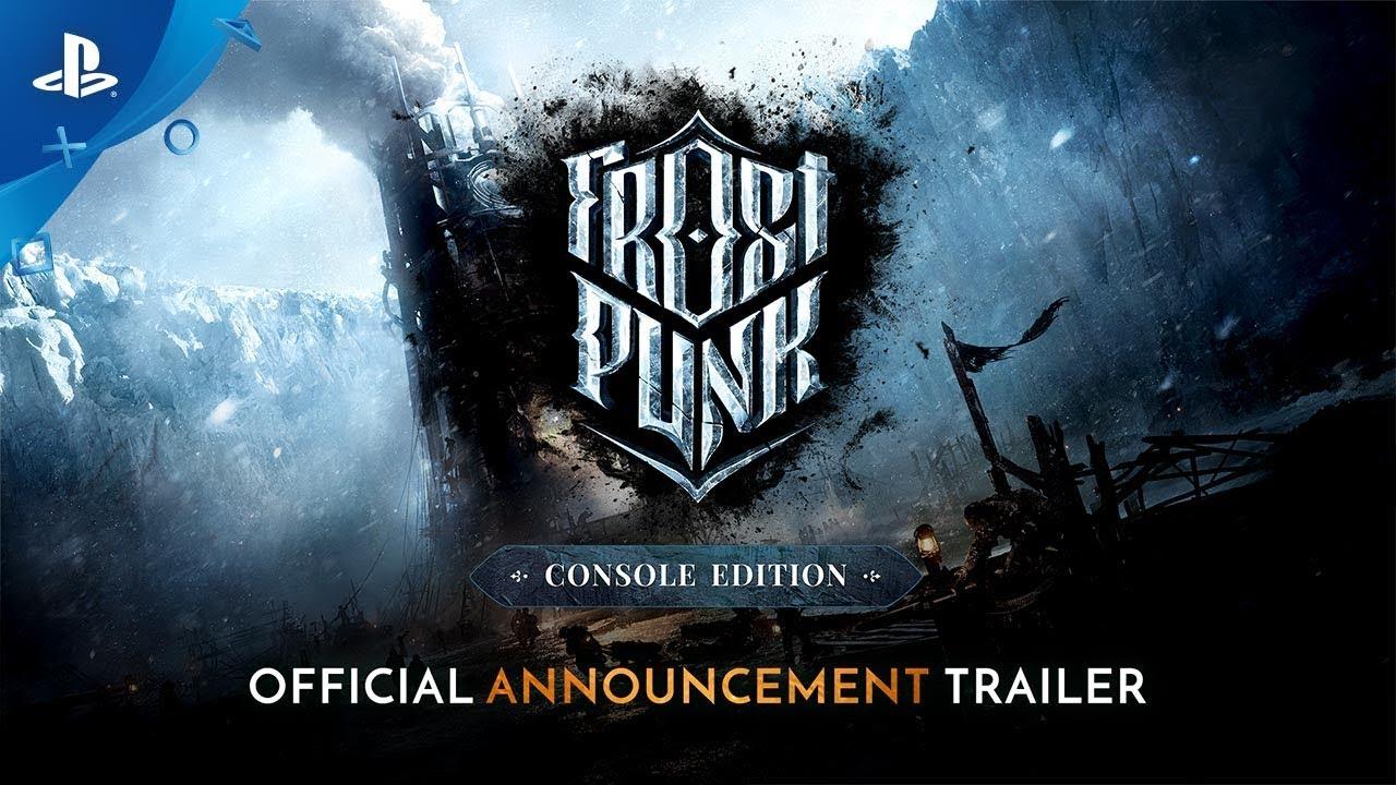 Führt die Gesellschaft zu Wohlstand oder Verzweiflung in Frostpunk, erscheint diesen Sommer auf PS4.