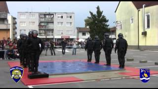 Pokazna Vježba Interventne Jedinice Policije Policijske Uprave Brodsko Posavske