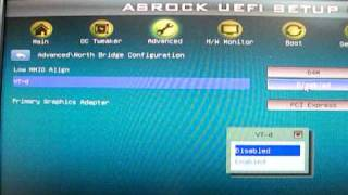 ASRock P67 Pro3 UEFI(BIOS)設定部分一覧
