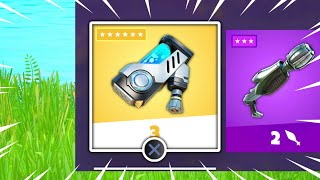 New MYTHIC ITEM Added in Fortnite Update!