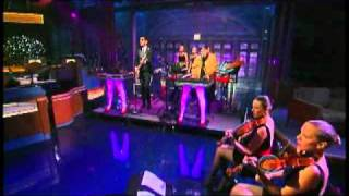 "Chromeo - ""Night By Night"" 9/20 Letterman (TheAudioPerv.com)"