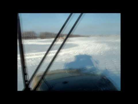 Challenger MT875 Snowbusting in North Dakota