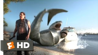 3 Headed Shark Attack 9/10 Movie CLIP  Never Seen Anything Like That 2015 HD