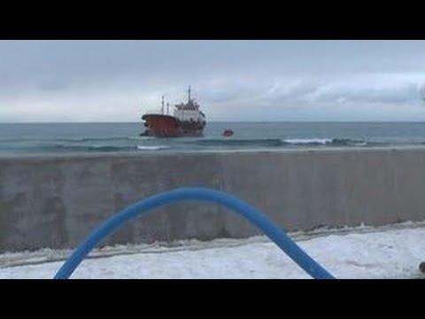 На танкер