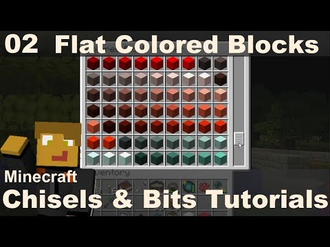 Flat Colored Blocks - Chisels & Bits (E02)
