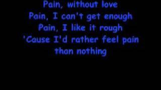 Three Days Grace - Pain (With Lyrics)