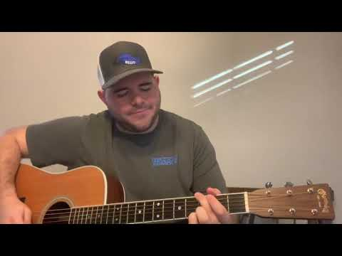 Riley Green - I Wish Grandpas Never Died | Acoustic Cover | Dustin Lee GUEDRY