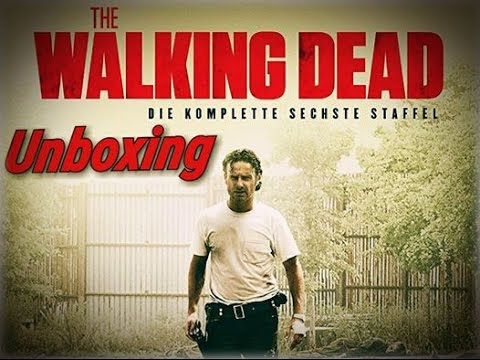 Unboxing • The Walking Dead Staffel 6|Deutsch|Bluray|
