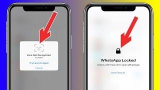 WhatsApp Se Actualiza Con Soporte A Face  ID & Touch ID Para todos
