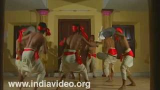 Parichamuttukali - the warrior dance of yore