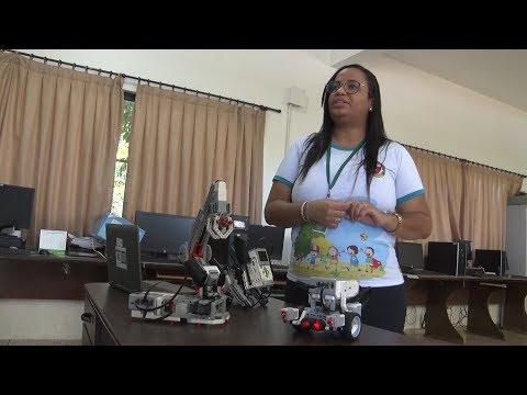 Projeto de Robótica muda realidade de estudantes da rede pública de Lucas do Rio Verde