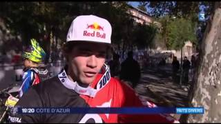 preview picture of video 'FR3 Urban DH Grasse 16 01 2014 Xtrem Events'