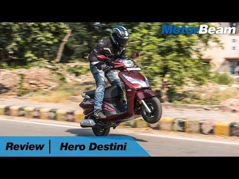 Hero Destini 125 Review – Better Than Activa   MotorBeam