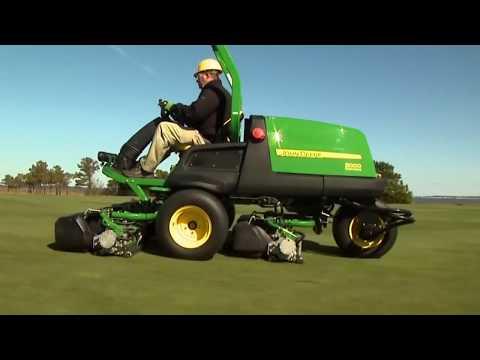 John Deere 6500A fairwayklipper - film på YouTube