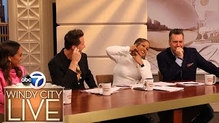 TV host takes bra off during show