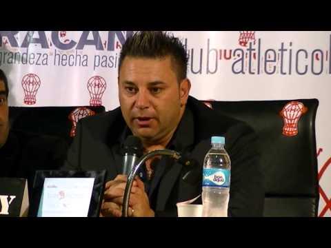 Presentación «Turco» Mohamed en Sede Social
