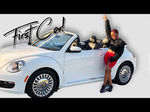 I BOUGHT MY FIRST CAR!  | Convertible Volkswagen Beetle Car Tour!