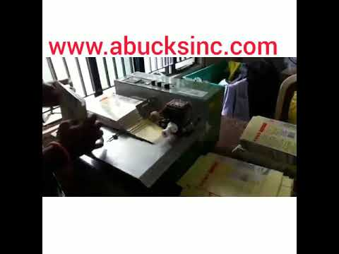 Batch Printing Machine Model MY380FW