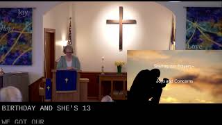 Worship in church – 3/14/2021
