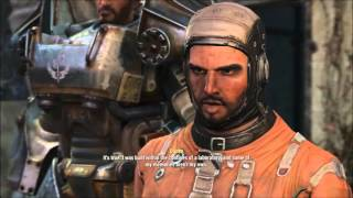 Fallout 4 Danse vs Maxson epic voice acting